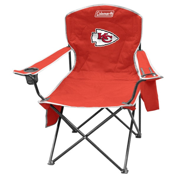 Coleman NFL Kansas City Chiefs XL Cooler Quad Chair 12083168