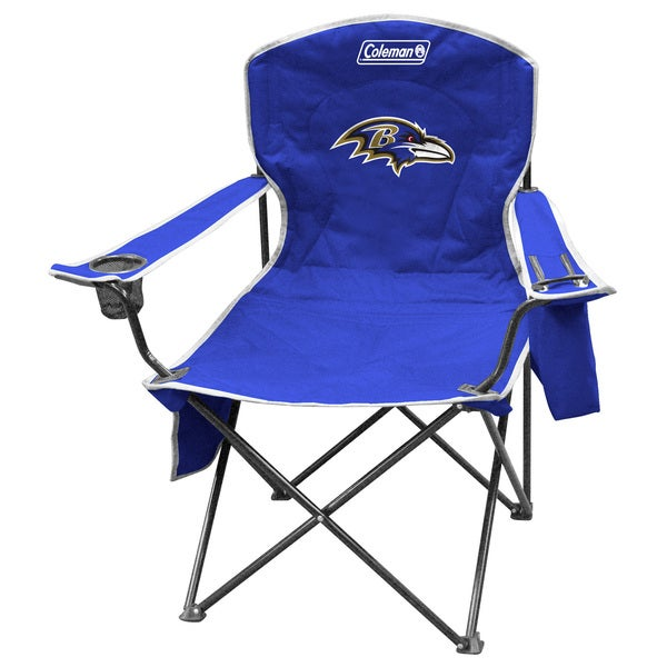 Coleman NFL Baltimore Ravens XL Cooler Quad Chair 12083178