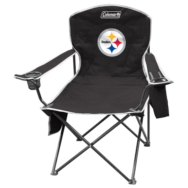 Coleman NFL Pittsburgh Steelers XL Cooler Quad Chair 12083181