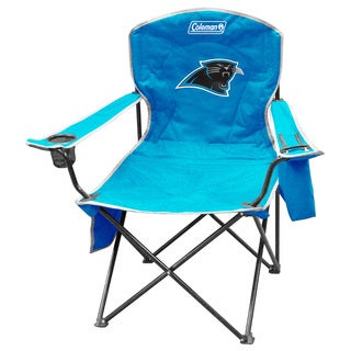 NFL Carolina Panthers XL Cooler Quad Chair