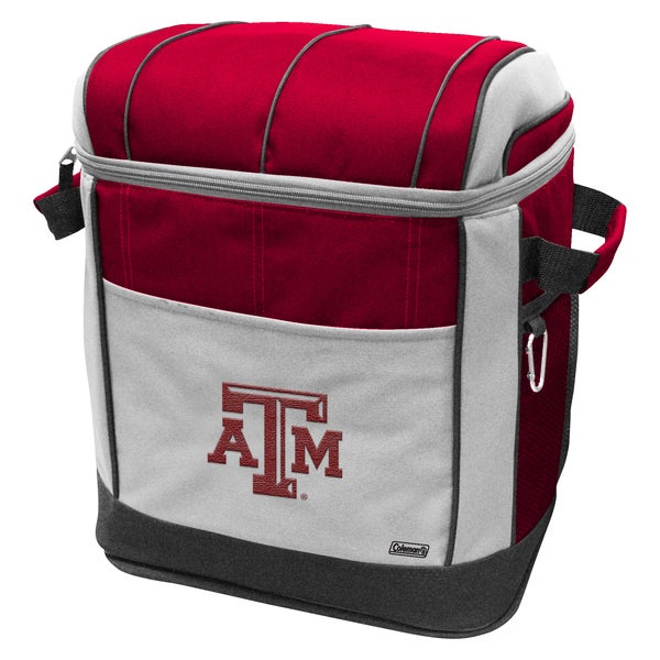 Coleman NCAA Texas AM Aggies 50-can Rolling Cooler