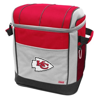 Coleman NFL Kansas City Chiefs 50-can Rolling Cooler
