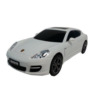 Porsche White 1:24 Scale Remote Control Car