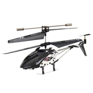 3.5-Channel Infrared Remote Control Black Helicopter
