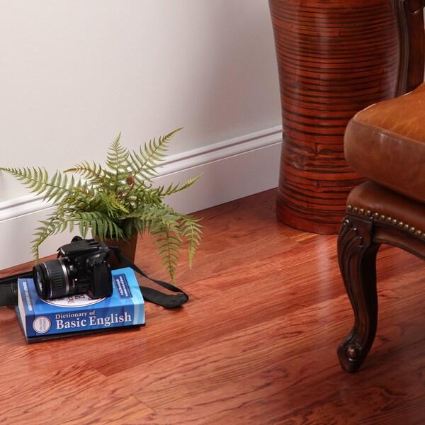 "Envi Exotic Natural Bubinga 1/2"" x 3 inch Engineered Hardwood Flooring"