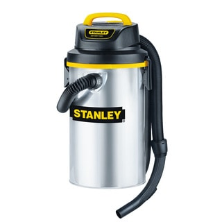 Stanley Stainless Steel Wet and Dry 3.5-gallon Vacuum