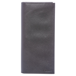 Prada Baltic Blue Saffiano Calf Leather Document Holder