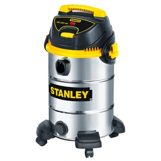 Stanley Stainless Steel Wet and Dry 8-gallon Vacuum