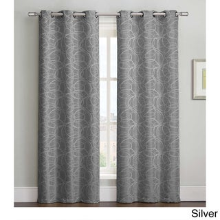 Tianna 84 inch Grommet Curtain Panel Pair