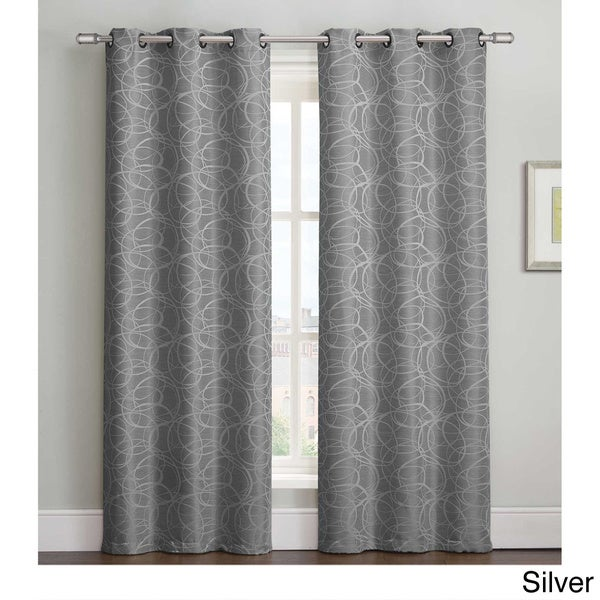 VCNY Tianna 84 inch Grommet Curtain Panel Pair