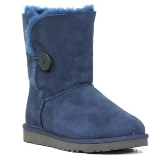 Ugg Women's Navy Bailey Button Boots