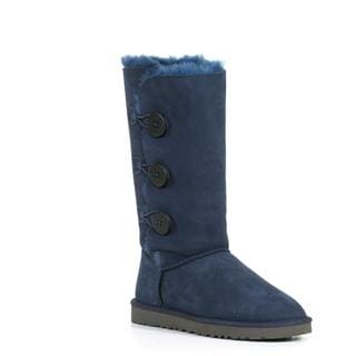 Ugg Women's Navy Bailey Button Triplet Boots