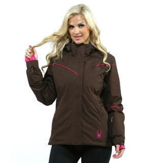 Spyder Women's Brown Charge Jacket (Size 10)
