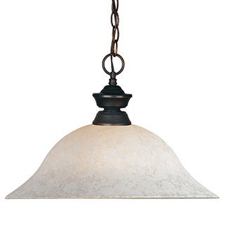 Z-Lite 1-light Olde Bronze Pendant Light