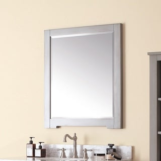 Avanity Kelly 28-inch Mirror in Grey/Blue finish