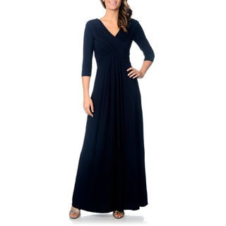 Patra Women's Jersey Knit Evening Gown