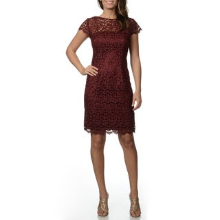 Patra Women's Lace Sheath Dress