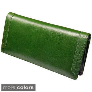 Castello Italian Leather Long Wallet