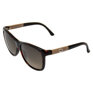 Gucci Women's GG 3613/S 6F4HA Havana Brown Sunglasses