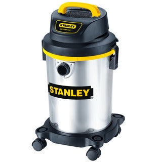 Stanley Wet/ Dry 4 Gallon Stainless Steel Vacuum
