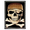 African Adventure Pirate Area Rug (5' x 7')