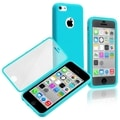 BasAcc Blue/ Clear Book-style TPU Rubber Case for Apple iPhone 5C