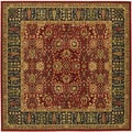 Royal Kashimar Cypress Garden Persian Red Rug (7'10 Square)