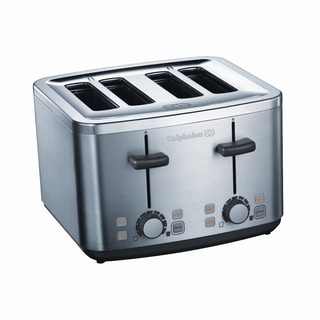 Calphalon Brushed Stainless Steel 4-Slice Toaster