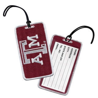 NCAA Texas A&M University Aggie Luggage Tag (Set of 3)