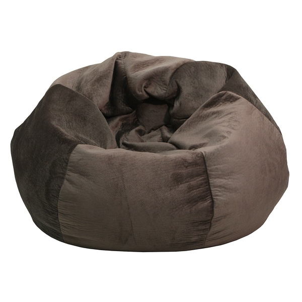 Extra Large Dark Brown Outback Saddle Bean Bag