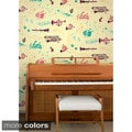 Jim Flora's Rhapsody Wall Tile Sheets (Set of 2)