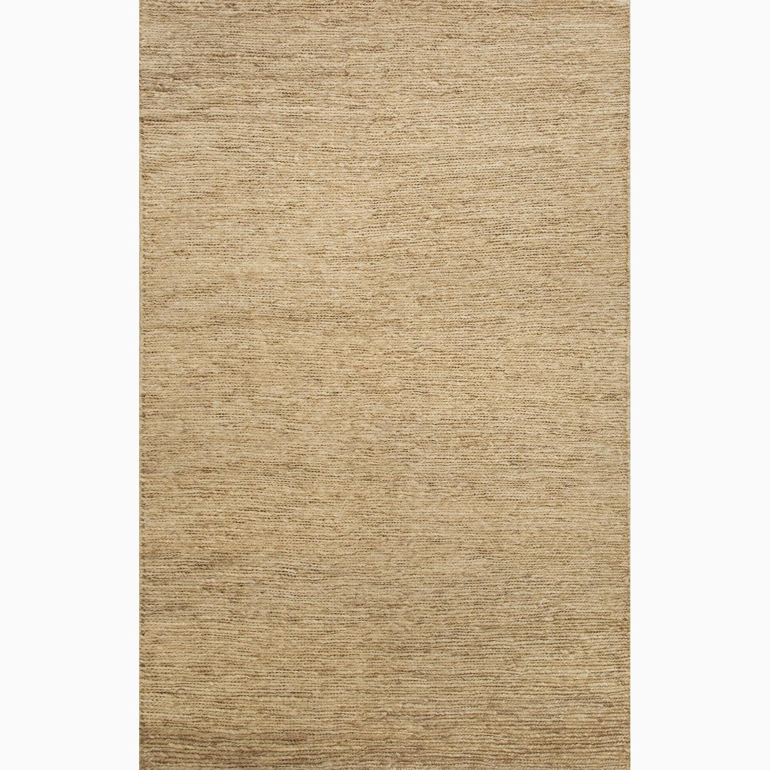 Handmade Ivory/ White Hemp Eco-friendly Rug (8 x 10)