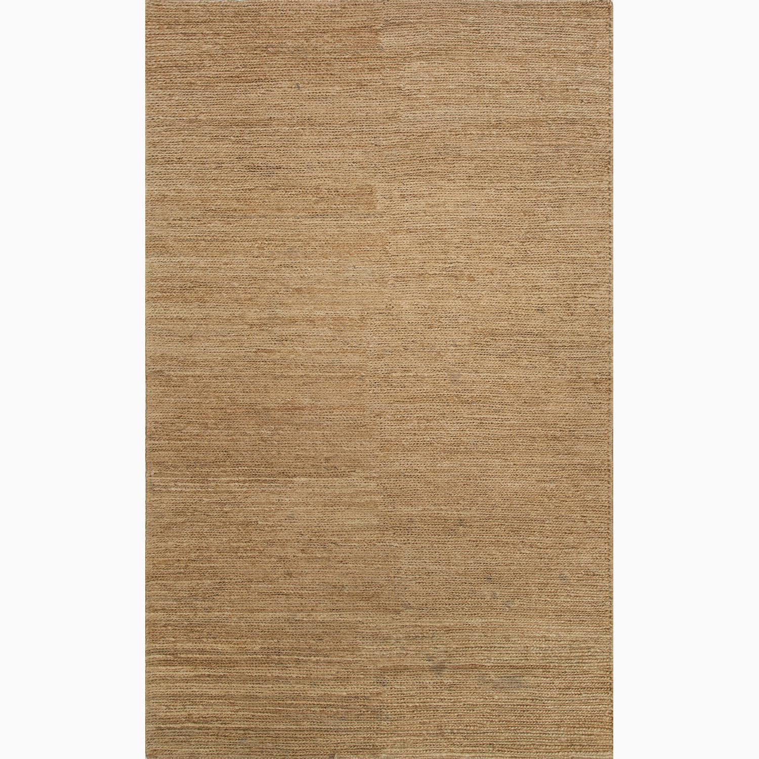 Handmade Contemporary Taupe/ Tan Hemp Eco-friendly Rug (8' x 10')