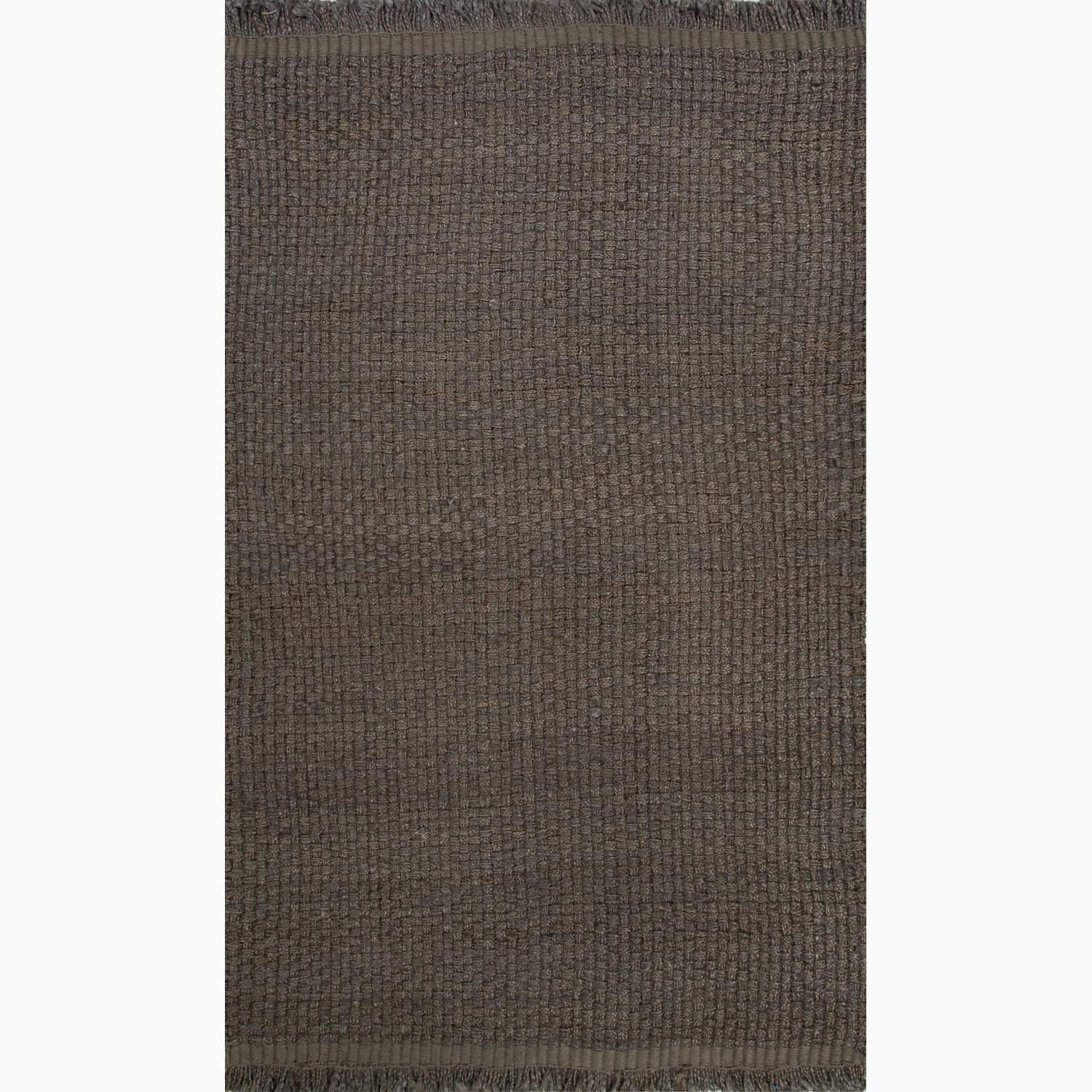 Handmade Gray Hemp Eco-friendly Rug (8 x 10)