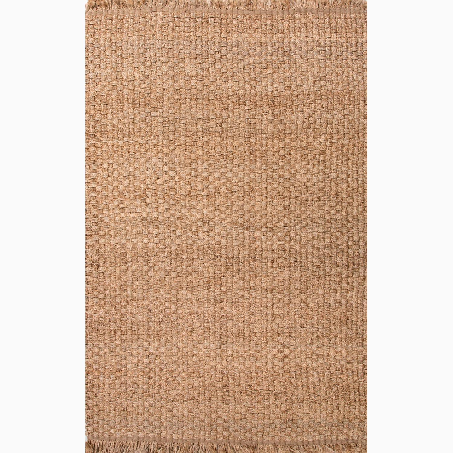 Handmade Taupe/ Tan Hemp Eco-friendly Area Rug (8' x 10')