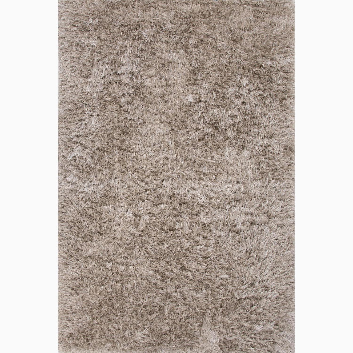 Handmade Gray/ Ivory Polyester Textured Rug (9 x 12)