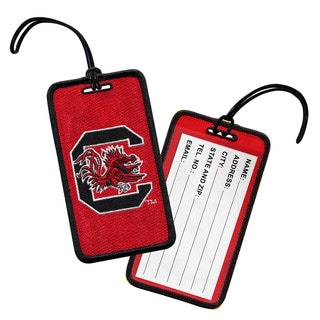 NCAA University of South Carolina Gamecocks Luggage Tag (Set of 3)