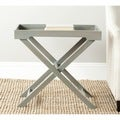 Leo Ash Grey Accent Table