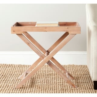 Safavieh Leo Accent Honey Nature Table