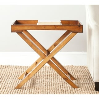 Safavieh Leo Brown Accent Table