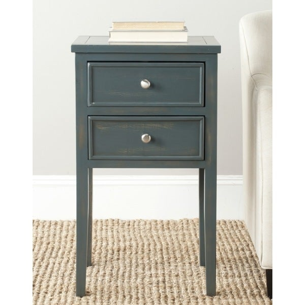 Safavieh Toby Dark Teal End Table