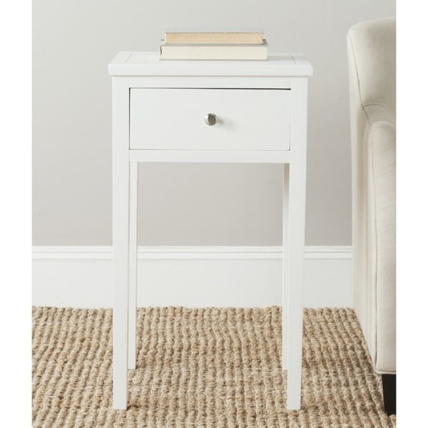 Safavieh Abel White End Table