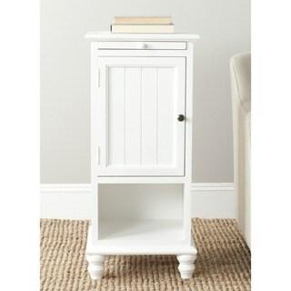 Jezabel White End Table