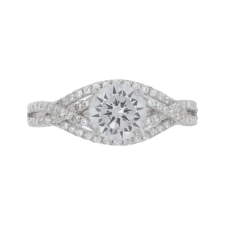 NEXTE Jewelry Sterling Silver Cubic Zirconia Ring