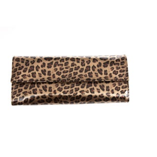 Fortuna Spa 12-piece Professional Brush Set with Leopard print case