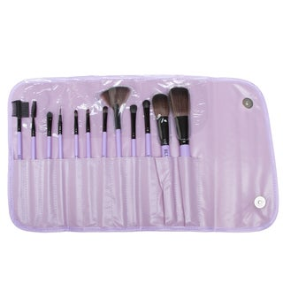 Fortuna Spa 12-piece Professional Lavender Brush Set