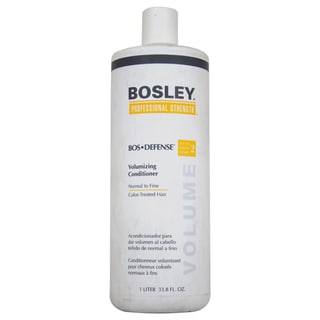 Bosley Bos-Defense 33.8-ounce Volumizing Conditioner for Normal to Fine Color-Treated Hair