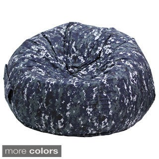Extra Large Digital Camo Bean Bag