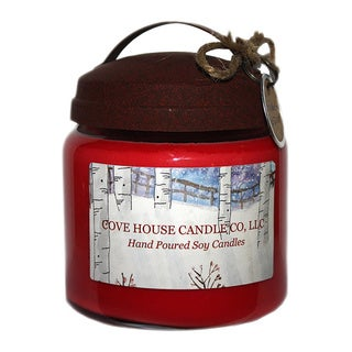16-ounce Soy Wooden Wick Container Candle