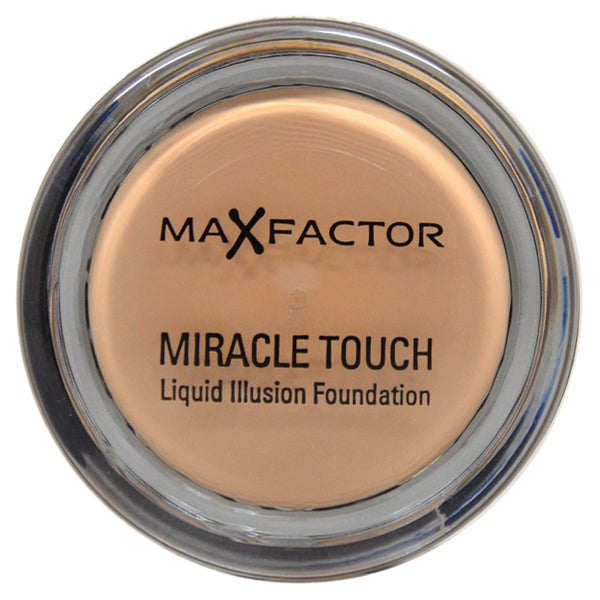 Max Factor Miracle Touch # 45 Warm Almond Liquid Illusion Foundation